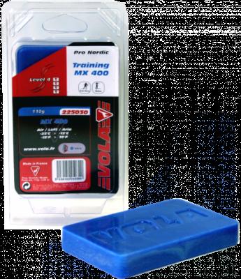 Běžecký tréninkový kluzný vosk MX 400 225030 -25 °C / -12 °C 110g. modrý