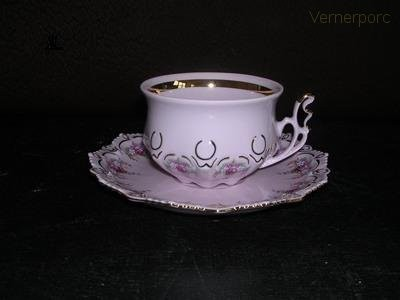 Čajový šálek s podšálkem Lenka Thun