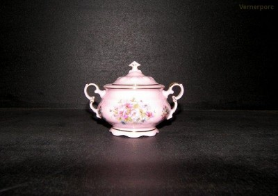 Cukřenka Sonáta 013 0,15l. růžový porcelán Leander Loučky