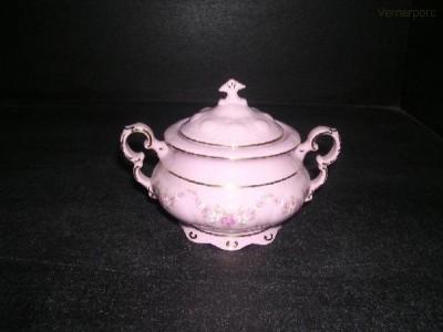 Cukřenka Sonáta 158 0,15 l. růžový porcelán Leander Loučky