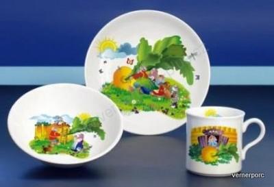 Dětský porcelán Viola 021, dekor řepa Moritz Zdekauer