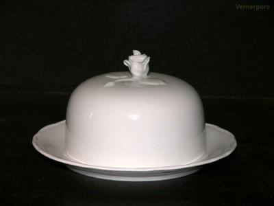 Dóza na sýr 2d. 13cm Český porcelán