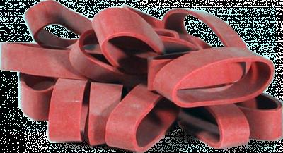 Fixační gumy pro zajištění lyžařských brzdiček 15008 20ks.