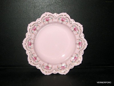 Hluboký talíř Lenka - růžový porcelán Epiag