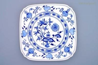 Hranatý talíř 29 cm Český porcelán