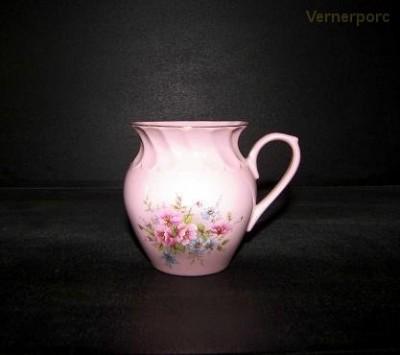 Hrnek Alba 013 0,25l., růžový porcelán Leander Loučky