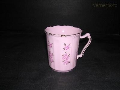 Hrnek Amis 159 0,25 l., růžový porcelán Leander Loučky
