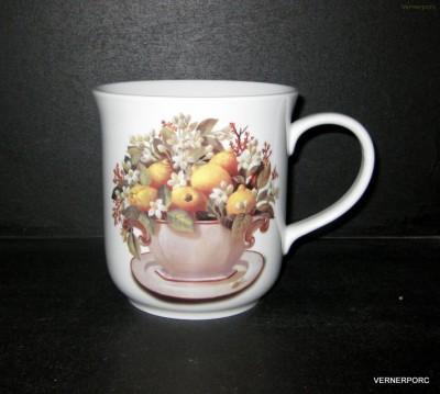 Hrnek Golem, dekor citróny Český porcelán