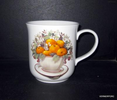 Hrnek Golem, dekor mandarinky Český porcelán
