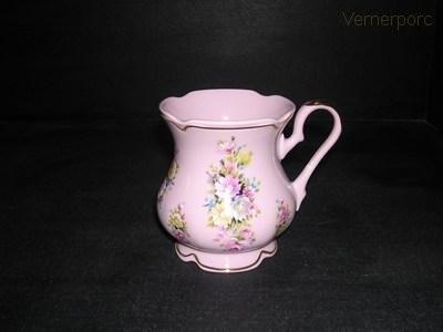 Hrnek MA 06 0,25, růžový porcelán Leander Loučky