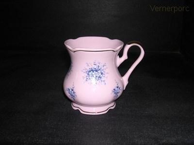 Hrnek MA 09 0,25 l., růžový porcelán Leander Loučky