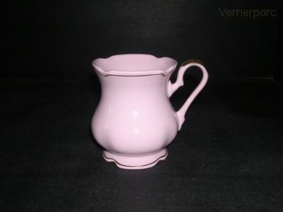 Hrnek MA 220 0,25 l., růžový porcelán Leander Loučky