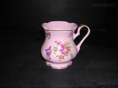 Hrnek MA 56 0,25 l., růžový porcelán Leander Loučky