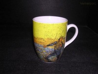 """Hrnek Van Gogh """"Rozsévač při západu slunce""""  0,25 l. Thun"""