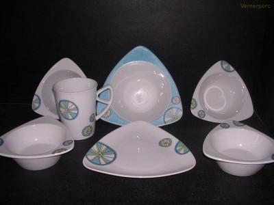 Jídelní souprava Trio 50292 7d. Český porcelán