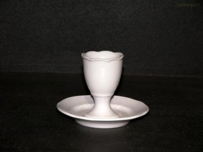 Kalíšek na vejce 7,5cm 6ks Český porcelán