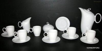 Kávová souprava Future, bílý porcelán Thun