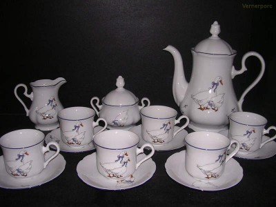 Kávová souprava Mary Anne 807 15d. Leander Loučky