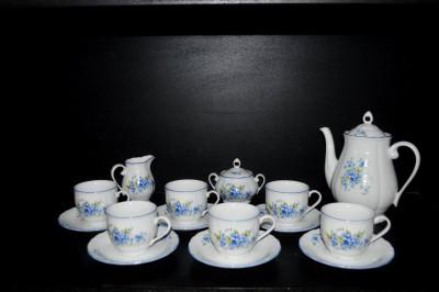 Kávová souprava pomněnky, tvar Verona 15 dílná Jeremy