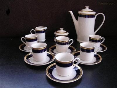 Kávová souprava Sabina 767 15d. Leander Loučky