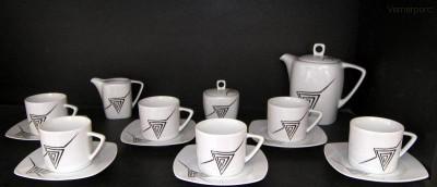 Kávová souprava Tetra 023V 15d. Moritz Zdekauer