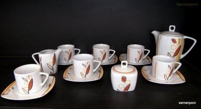 Kávová souprava Tetra 085V 15d. Moritz Zdekauer