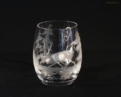 Korbel křišťálový jelen 0,6l. 23043/0001/600J Tom Crystal Bohemia