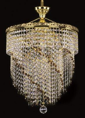 Křišťálový lustr brilliant 20L282B800667 40x58 cm, 7 světel, zlacený ART JBC