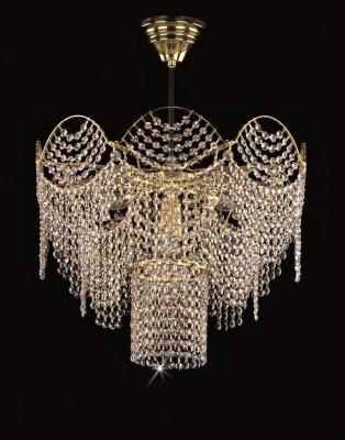 Křišťálový lustr brilliant 22L09085CE9 50x63 cm, 9 světel, zlacený ART JBC