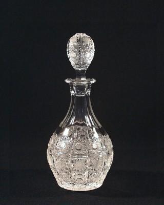 Láhev křišťálová broušená 42055/57001/055  0,55l. Tom Crystal Bohemia
