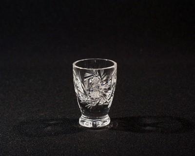 Likérka křišťálová broušená 24062/0/26008/025  6 ks Tom Crystal Bohemia