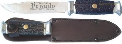 Lovecký nůž 376-NH-6 nerez+plast VENADO Mikov