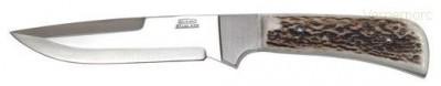 Lovecký nůž 398-NP-13-A nerez+paroh Mikov