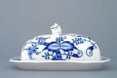 Máslenka hranatá velká 250 g. 7233 Český porcelán