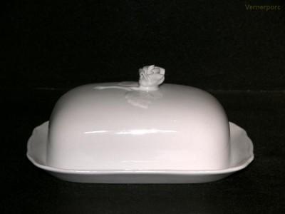Dóza na máslo velká 250g Český porcelán