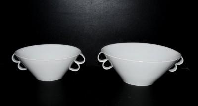 Mísa kompotová a salátová Bohemia White  2 ks Český porcelán