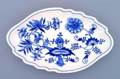 Mísa ve tvaru dvojlistu 24 cm Český porcelán