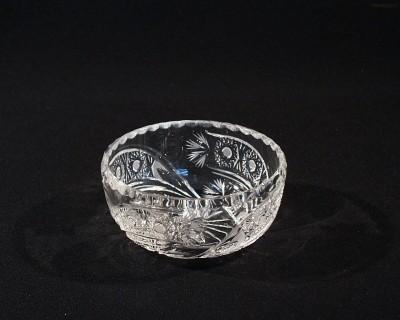Miska kompotová křišťálová broušená 60531/35003/116 12cm Tom Crystal Bohemia