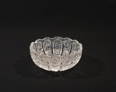 Miska kompotová křišťálová broušená 60531/57001/116 12cm Tom Crystal Bohemia