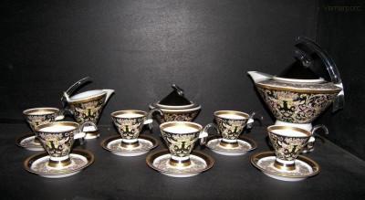 Mocca kávová souprava Eva 15d. Limitovaná série č. 50 Thun