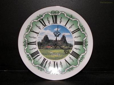 Nástěnné hodiny 25cm Trosky ZD