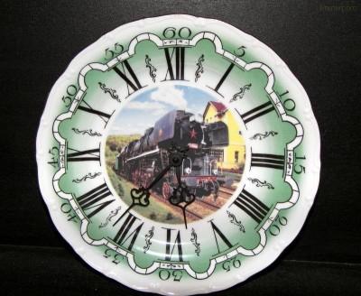 Nástěnné hodiny vlak 10 25cm ZD