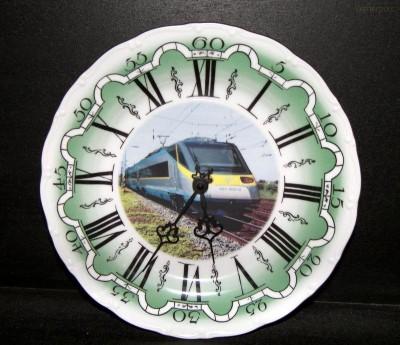 Nástěnné hodiny vlak 9 25cm ZD