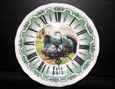 Nástěnné hodiny vlak6 25cm ZD
