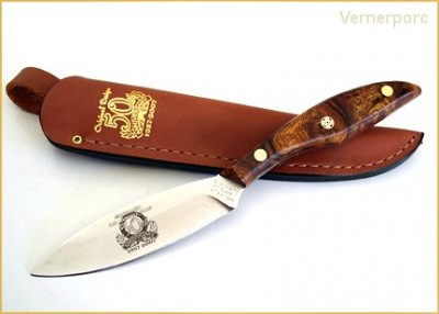 Nůž s pevnou čepelí I1S Original Design - Anniversary Knife Grohmann
