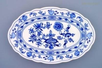 Oválný talíř 35 cm Český porcelán