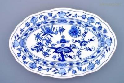 Oválný talíř 39 cm Český porcelán