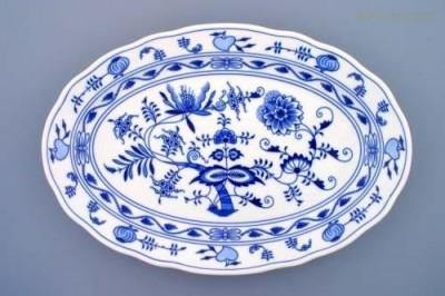 Oválný talíř 43 cm Český porcelán