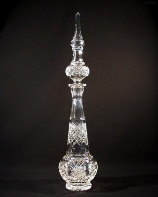 Perská láhev křišťálová broušená 40250/26008/105  1,05l. Tom Crystal Bohemia