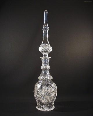 Perská láhev křišťálová broušená 40292/26008/280  2,8l. Tom Crystal Bohemia